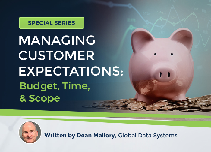 Customer Expectations: Budget, Time & Scope