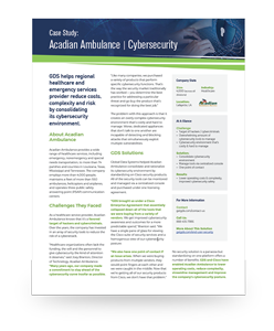 AA OneSheet Cybersecurity